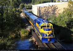 RailPictures.Net Photo: ARR 3012 Alaska Railroad EMD GP40-2 at Anchorage, Alaska by Steven Mckay