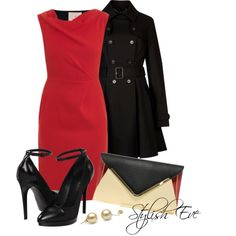 """""""Red Outfit !"""""""