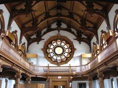 The Cole Reading Room, St. Lawrence University, Canton, NY, by Mwanner