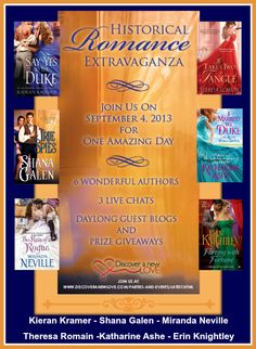 Prize Giveaway, Historical Romance, September, Author, Events, Posts, Shit Happens, Live, Reading