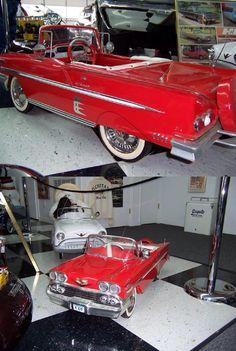 #1958#impala#pedal car                                                                                                                                                                                 More