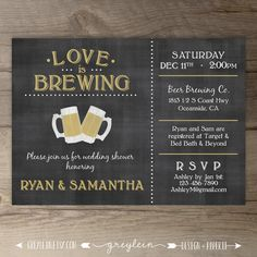 Love is Brewing Wedd