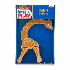 Take the challenge of moving and re-positioning the Giraffe Grasping Toy from Melissa & Doug®. Consisting of a hardwood body, an elastic tail and bright, non toxic paint, this giraffe helps build your toddler's motor skills and coordination. Baby Nursery Furniture, Nursery Room Decor, Christmas Gift Guide, Christmas Gifts, Desert Dream, Wooden Baby Toys, Non Toxic Paint, Melissa & Doug, Activity Toys