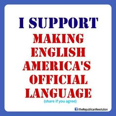 "AMERICAN'S should not have 2 press ""1"" for English! Learn the language or LEAVE!"