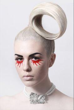 White hair - Make-up
