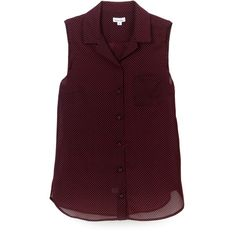 camisa de gasa sin mangas