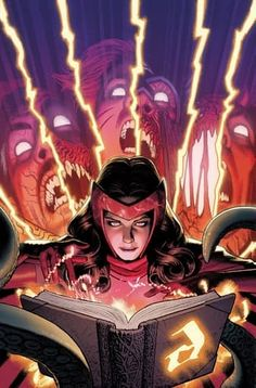 When Marvel Comics Were Publishing a Scarlet Witch Event, Darkhold