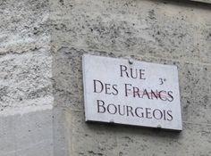 PARIS Le Marais I Rue des Francs-Bourgeois
