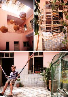 chez zidzid kids / Marrakech . photos Barbara Berrada