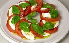 Mozarella-paradicsom saláta (Caprese)   Háromkaptár
