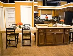 15 beautiful kitchen island with table attached | beautiful