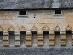 St-Léon sur Vézère (Dordogne) château de Clérans - détail