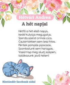 Mindennapi útitárs - versek és mondókák óvodásoknak – Modern Iskola Kindergarten Crafts, Preschool Worksheets, Games For Kids, Diy For Kids, Cicely Mary Barker, Kids Corner, Little Girl Rooms, Stories For Kids, Toddler Activities