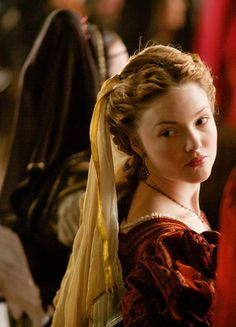 Holliday Grainger in 'The Borgias' (2011). x
