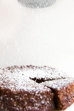 David Lebovitz's Ginger Cake, made with fresh ginger and dark molasses! By Broma Bakery