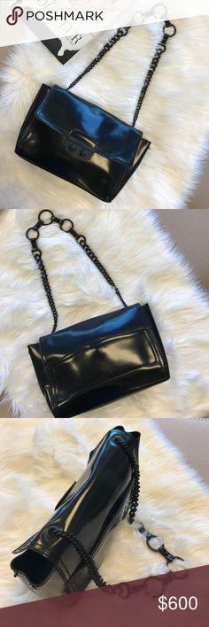 Spotted while shopping on Poshmark: YSL Le Sixieme Rubber Shoulder Bag! #poshmark #fashion #shopping #style #Saint Laurent #Handbags