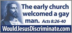 Billboards show gay-friendly Jesus Lgbt Quotes, Love Cover, Religion And Politics, Jesus Quotes, Bible Quotes, Gay Couple, Billboard, That Way, Verses