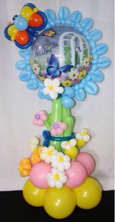 Ideas para tu Fiesta: Decoración con globos