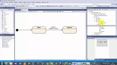 In this clip we take a look at how to create a simple UML State Machine Diagram using Sparx Systems Enterprise Architect.