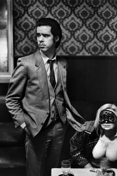 Nick Cave, London 1988 © Anton Corbijn