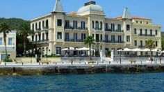Spetses Island Hellas 🇬🇷️ Around The Worlds, Island, Mansions, House Styles, Home Decor, Decoration Home, Manor Houses, Room Decor, Villas