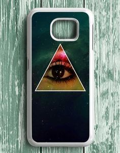 Triangle Eye From Galaxy Samsung Galaxy S7 Edge Case