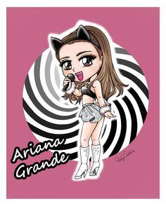 Ariana Grande - Pintura digital