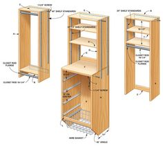 DIY Locker - Storage: How to Triple Your Closet Storage Space Closet Storage Drawers, Closet Storage Systems, Closet System, Storage Spaces, Locker Storage, Clothes Storage, Storage Ideas, Closet Shelving, Diy Drawers