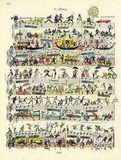 Old sheet music = art. <3