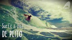 Surfe a vida DE PEITO!  #handsurf #bodysurf #handplane #surf #handboard #nellihand