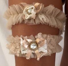 A personal favorite from my Etsy shop https://www.etsy.com/il-en/listing/453925988/lace-garter-set-sexy-wedding-garter