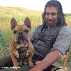 """5 Reasons to Love Mac Mount, Canine Mascot of TV Show """"Hell on Wheels"""" - Dogster Man Mount, Anson Mount, Hell On Wheels, Love French, Favorite Tv Shows, In This World, Robin, Nerd, Puppies"""