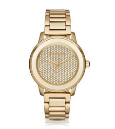 Kinley Pavé Gold-Tone Watch | Michael Kors