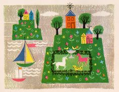 A Child's Garden of Verses - by Robert Louis Stevenson, illustrated by Alice & Martin Provensen (1951).