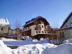 ubytování v Železné Rudě - zima Omega, Studios, Cabin, European Countries, Czech Republic, House Styles, Outdoor, Home Decor, Outdoors