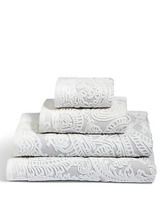 Paisley Embossed Cotton Towel | M&S