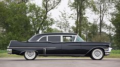 1957 Cadillac Series 75 Limousine presented as lot T71 at Schaumburg, IL 2015 - image2