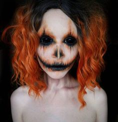 "Gefällt 18.9 Tsd. Mal, 113 Kommentare - The Horror Gallery (@thehorrorgallery) auf Instagram: ""Pumpkin Girl by @trashiiie inspired by @erikamariemua"""