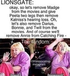 Hunger games and fat amy