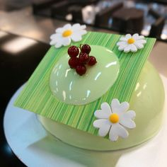 Get ready for the new green apple dome cake!  Available at Green.