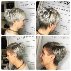 In each new season, short hairstyles can likewise indicate changes. Most importantly, it's vital to be available to advancements for a decent look. Hairdos For Older Women, Haircut Styles For Women, Short Haircut Styles, Cool Short Hairstyles, Short Hair Updo, Best Short Haircuts, Cool Haircuts, Hairstyles With Bangs, Short Hair Cuts