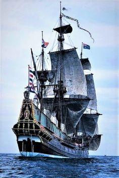 """Tall Ship """"Hermoso"""" Barco."""