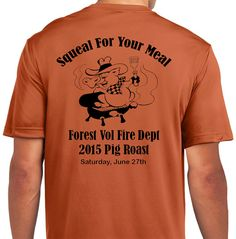 Forest Volunteer Fire Department 2015 Annual Pig Roast, June 27th, 4 pm, 1129 Towpath Rd, Hawley, PA 128428. Info at 570-226-3491