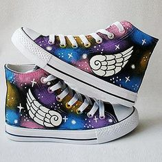 (Wings design)   Buy 'HVBAO – Painted Wings Canvas Sneakers' with Free International Shipping at YesStyle.com. Browse and shop for thousands of Asian fashion items from China and more!