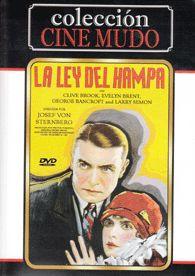 La ley del hampa (1927) EEUU. Dir.: Josef Von Sternberg. Cine negro. Mafia - DVD CINE 2230-I