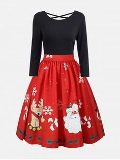 GET $50 NOW | Join RoseGal: Get YOUR $50 NOW!https://m.rosegal.com/plus-size-dresses/plus-size-christmas-criss-cross-print-dress-1407215.html?seid=61nqdli89e4r1m1k04i88nkkr1rg1407215
