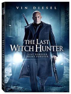The Last Witch Hunter DVD Disc Only with Case Pre-Order Vin Diesel
