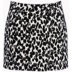 Stella Mccartney Painted Spot Brigit Skirt ($485) ❤ liked on Polyvore