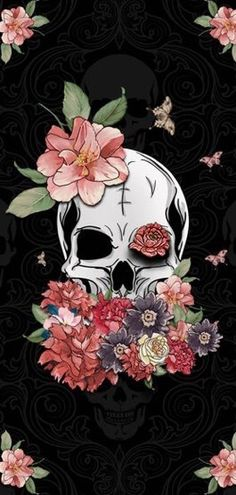 Free HD quality backgrounds for your PC desktop, tablet, or iPhone, Android or other mobile phone. simple white wallpaper for iphone Skull Wallpaper, Iphone Background Wallpaper, Black Wallpaper, Aesthetic Iphone Wallpaper, Cool Wallpaper, Aesthetic Wallpapers, Phone Backgrounds, Aquarell Tattoo, Skull Artwork