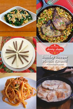 Celebrate National #SundaySupper Month Kick-Off with over 50 amazing family favorite recipes.